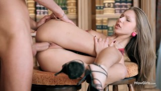 WOWGIRLS HOTTEST Anjelica Ebbi leaving no chance for the guy, begging for passionate anal fucking