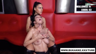 Beautiful Sherry Vine and Friend Get Heavy Facial - bukkake.xxx