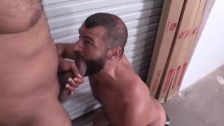 Swallowing Ray Diesel