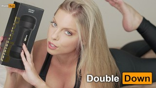 PORNHUB TOY REVIEW - DOUBLE DOWN