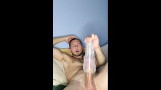 Watching Porn And Cumming Big!!!!