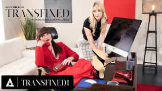 ADULT TIME Transfixed She's the Boss- Kenna James & Natalie Mars