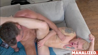 MANALIZED Dreamy Jock Leo Luckett Bottoms For Hung Daddy