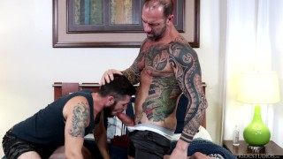 Vic Rocco's Huge Thick Cock Worshipped - ExtraBigDicks