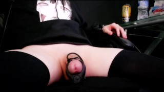 Femboy Sprays Huge Load On Camera