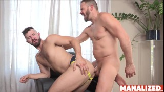 MANALIZED Ryan Wilcox Blown by Younger Stud Before Fucking Him