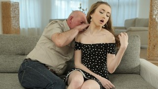 DADDY4K. Bored cutie gets seduced by her boyfriends old father