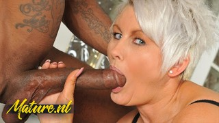 This British MILF Knows How To Handle a Big Black Cock