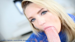 CALI CARTER & NINA NORTH LOVE A THICK COCK IN THEIR MOUTHES