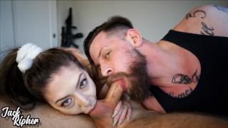 Stag/Vixen Couple Take Down A Cock