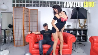 LasFolladoras - Suhaila Hard Big Tits Spanish MILF Fucks Lucky Pizza Delivery Guy - AMATEUREURO