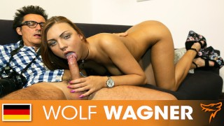 Morgan Rodriguez gets boned hard by a stranger! WOLF WAGNER