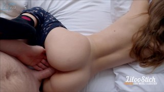 MY SLUTTY LILOO: SHE NEEDS A BIG DICK TO WAKE UP
