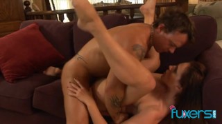 Lauren Phoenix passionate anal