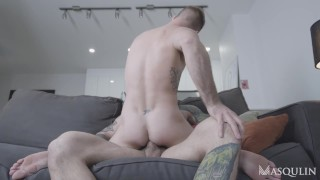 JEREMY LONDON BECOMES A TOTAL CUM DUMP WITH MARKUS KAGE