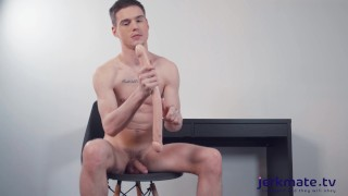 Jerkmate - Cute Twink Lev Ivankov Stretches His Tight Hole For You On Jerkmate Live Cam