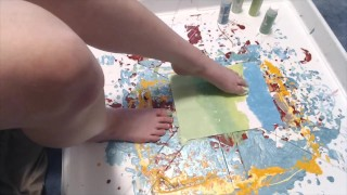 Feet painting compilations