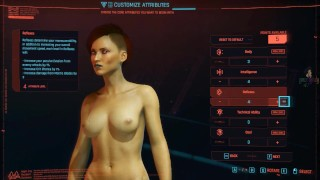Exploring Cyberpunk 2077 StreetPart One Detective V is Porn