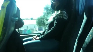 (Risky Public) Teen Student Suck my Dick on the BUS!!! trailer