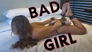 Super Hot Hand Cuffed Teen in Bondage Gets Slapped Hard & Fucked Rough - BDSM Pov