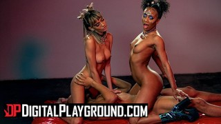 Digital Playground – Threesome Game Fantasy With Janice Griffith, Demi Sutra And Ricky Johnson