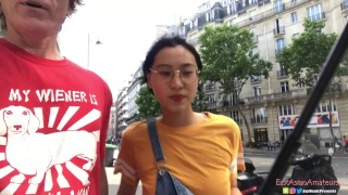 Chinese Asian June Liu Creampie - SpicyGum Fucks American Guy in Paris x Jay Bank Presents