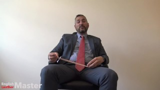 FULL VIDEO Small Penis Humiliation by suited Boss. More like this my onlyfans!