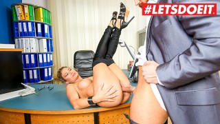 BumsBuero - Izzy Mendosa Big Ass German MILF Fucked Hard By Her New Boss - LETSDOEIT