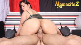 HerBigAss - Rita Defortuna Big Booty Latina Colombiana Intense Close Up Anal Sex - MAMACITAZ