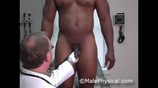 Big Black Cock Doctor Examination