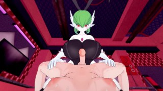 Pokemon: Futa Gardevoir busty bunny pleasure | Futa Taker POV