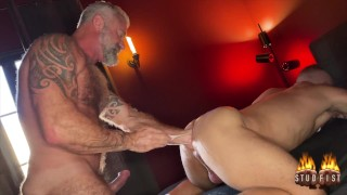 Lance Charger Fist Fucks Tight Bottom