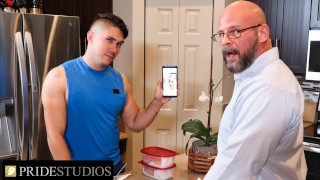 Family Creep - Latin Jock Knows Stepdad's Gay Secret