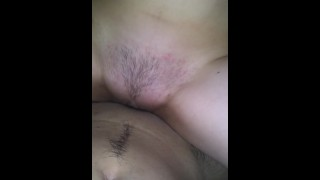 She rides me so good  I couldn't help but cum inside