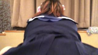 XXX Japanese Asian ass anal schoolgirl cowgirl cat ears butt cosplay hentai sex xxx