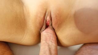 ScrewMeToo Fang Bang Spreads Asian Twat For Big Dick