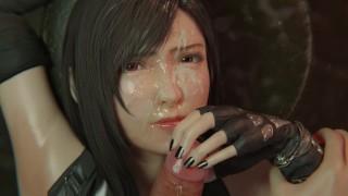Final Fantasy Tifa Lockhart Experience The Ultimate In Oral Pleasure