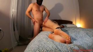 He surprised me by acting out my fantasy as a sex slave...