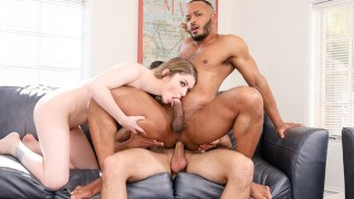 DevilsFilm Bunny Colby Blows Her Friend's Cock While Husband Dante Colle Fuck Him