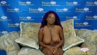 Naomi - Casting In Las Vegas - Deep Anal POV Deep Throat - Solo Masturbation Bondage Orgasm!