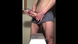 Creampie in My Clear Toy