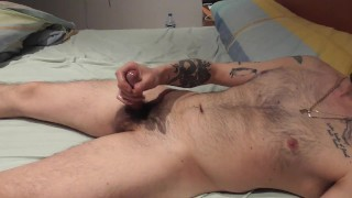 I cum on my mother-in-law's bed