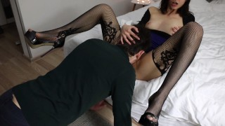 Cuckold Husband Preparing His Wife For a SEX DATE