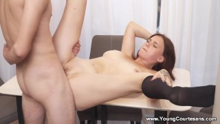 Young Courtesans - Queenlin - Girlfriend experience fucking
