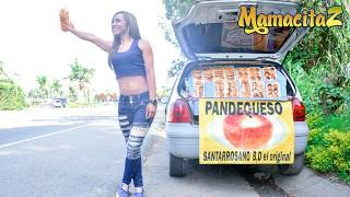 CarneDelMercado - Adriana Betancur Latina Colombiana Spreads Her Legs And Fucks Stranger - MAMACITAZ