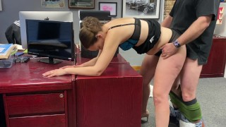 Fucking the bosses wife