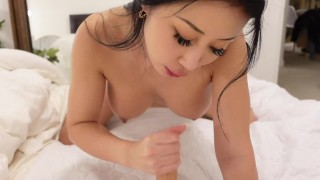 JOI Your Gorgeous Chinese Girlfriend Begs For Your Attention & Works Hard To Cum For You