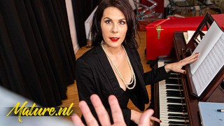 French Piano Teacher Fucked In Her Ass By Monster Cock