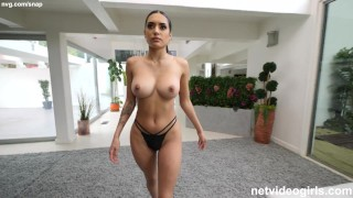 Incredible Latina Orgasms Over and Over During Her Audition