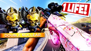 2 NUKES in 1 LIFE! - Black Ops Cold War Double NUCLEAR in ONE LIFE!